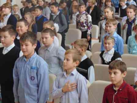 Посвящение пятиклассников