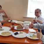 Ученики начального звена с сентября  перешли на бесплатное питание