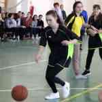 18 февраля в школе  состоялся  турнир по баскетболу