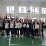 В честь Дня Защитника Отечества в спортзале школы прошла командная эстафета «Самый, самый!»