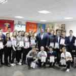 Встреча юных патриотов с руководителем района