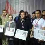 Бондарские юные стрелки достойно выступили на первенстве города Тамбова по практической стрельбе из пистолета среди допризывной молодежи