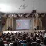 Педагоги школы принимали поздравления с первым весенним праздником