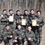 Команда нашей школы- победитель  зональнoго этапа Всероссийской военно-патриотической игры «Победа»