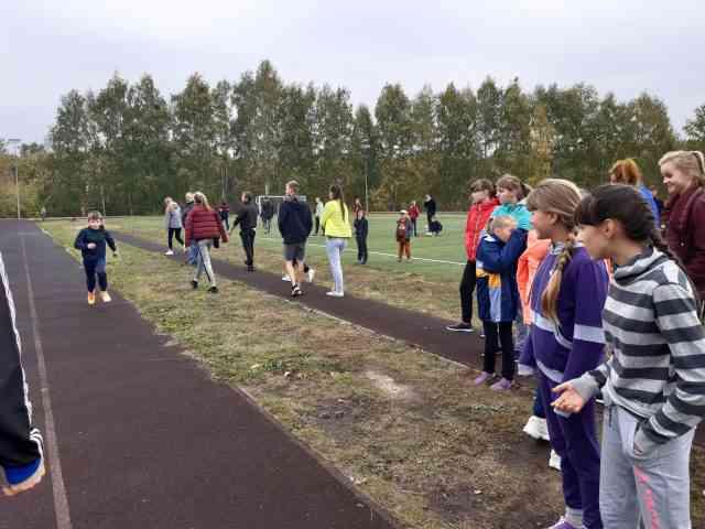 На стадионе 27 сентября состоялся районный легкоатлетический кросс
