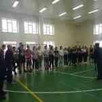 Школьники приняли участие в олимпиаде по физической культуре.