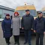 Школьный автопарк пополнился еще одним новеньким автобусом