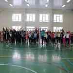 В спортзале школы прошел День здоровья.