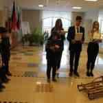В школе начался месячник по военно- патриотическому воспитанию.